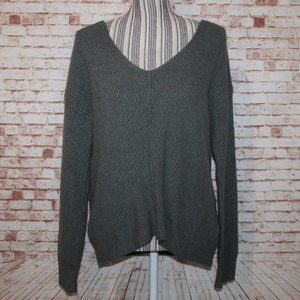 Ruby Moon Thin Knitted with V-Neck Back Sweater S